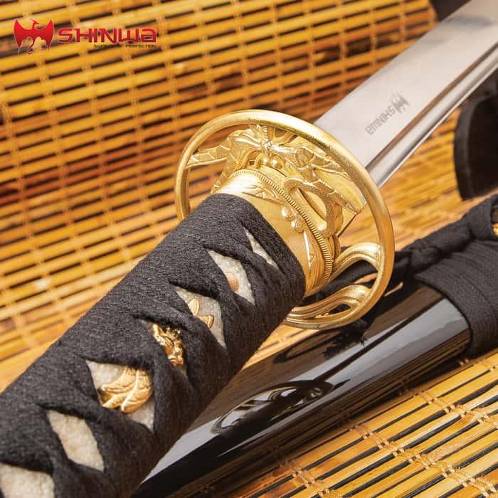 Shinwa Kachimushi Dragonfly Katana - 1060 Carbon Steel - Samurai Sword