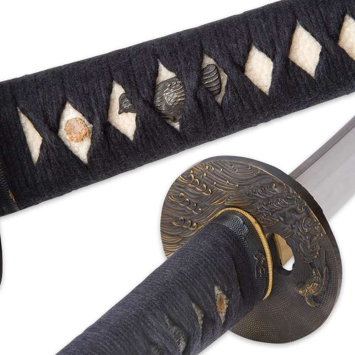 Musashi Folded Elite Black Falcon Katana