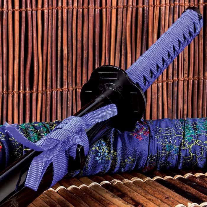 Deep Purple Warrior Katana