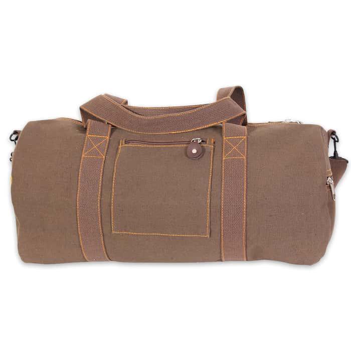 Canvas Equipment Bag - Brown