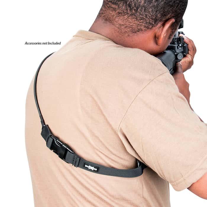 M48 OPS Adjustable Tactical One-Point Elastic Sling Black