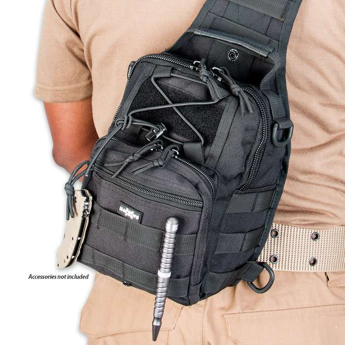 M48 OPS Tactical Military Bag - Black