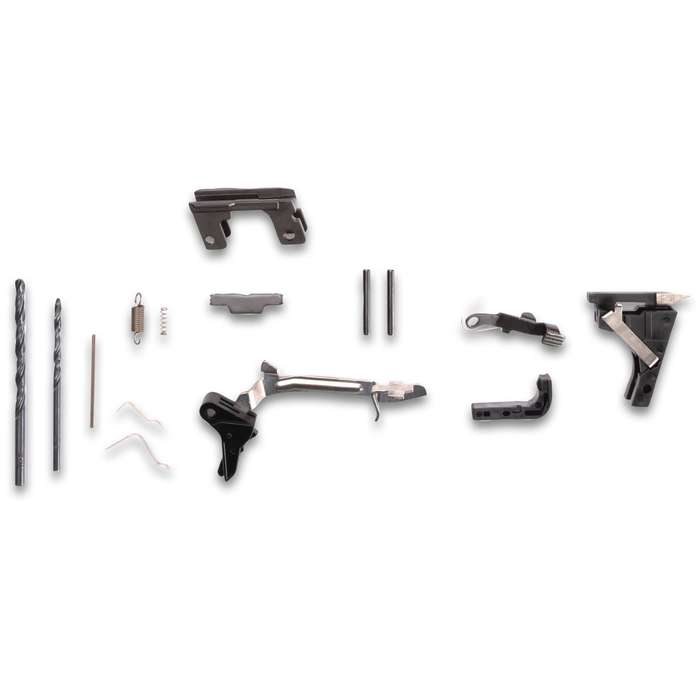 Buy Build Shoot 80% Compact 9MM Pistol Kit With 15-Round Magazine - All Necessary Components, Polymer Construction, Pistol Case Included