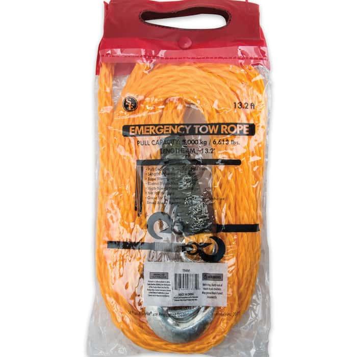Emergency Nylon Tow Rope 13 1/2 FT