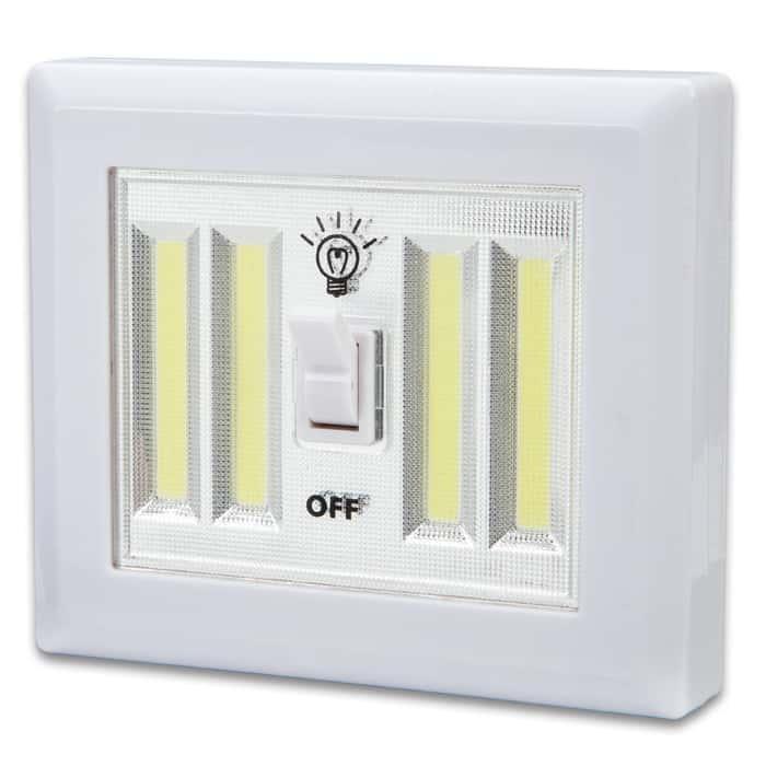 Trailblazer Cordless Double Light Switch