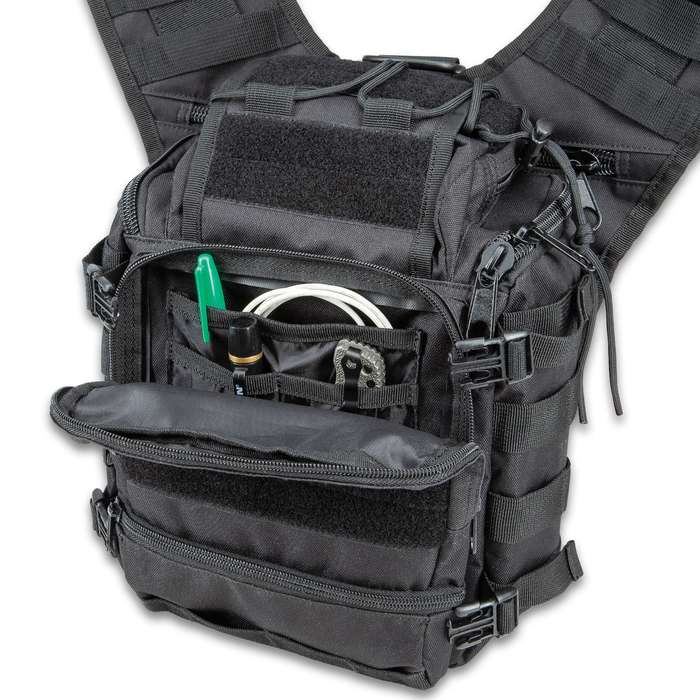 M48 Ops Tactical Solar Panel Sling Pack Free Shipping