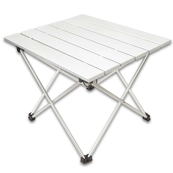 """Intense Ultra-Light Folding Camping Table With Bag - 6061 Aluminum And TPU Construction - Dimensions 15 1/2""""x 13 1/4""""x 12 1/4"""""""