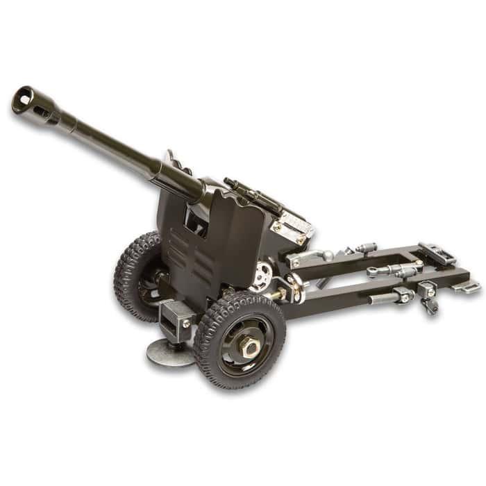 "Desk Display M3 37mm Anti-Tank Gun Replica - All Metal Construction, Accurate Replica - Dimensions 12""x 6"""