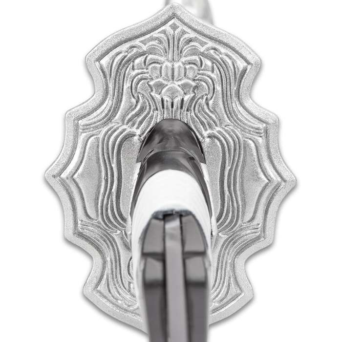 "Nier: Automata Virtuous Contract Sword And Sheath - Stainless Steel Blade, Cast Resin Handle, Traditional Cord-Wrap, Cast Metal Tsuba - 39 3/4"" Length"
