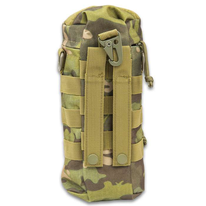 """M48 Tactical Water Bottle Pouch - 900D Oxford Material Construction, Water-Repellent, MOLLE Webbing - Dimensions 10""""x 5 1/2"""""""
