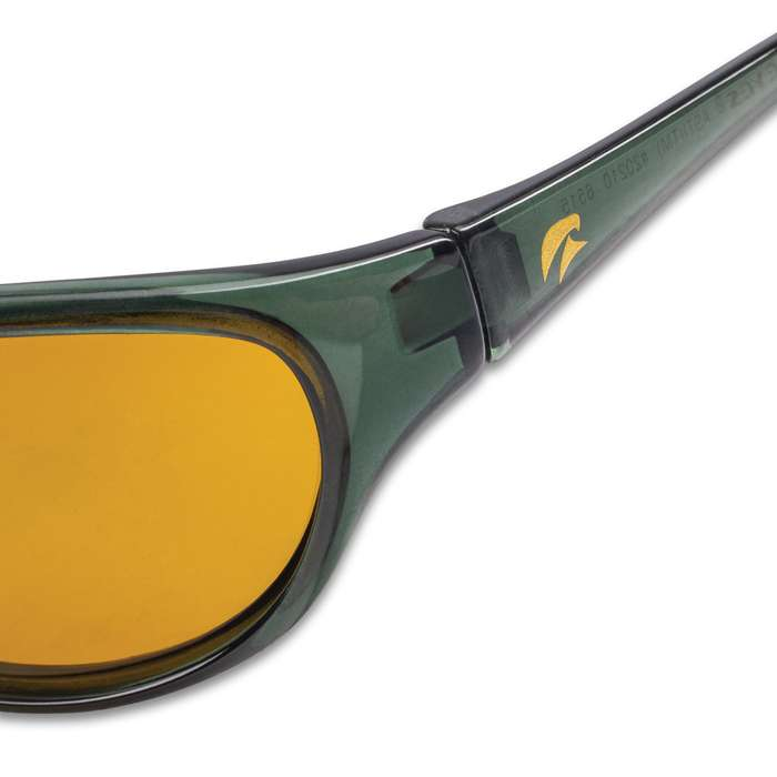 Eagle Eyes Asti Sports Sunglasses - NASA Optic Technology, Black Techlon Frames, Wrap Style, Blocks 99.9 Percent Harmful Rays
