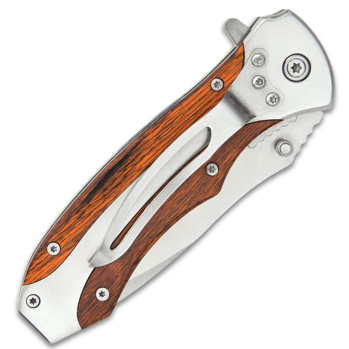 Ridge Runner Herdsman Traditional Assisted Opening Pocket Knife