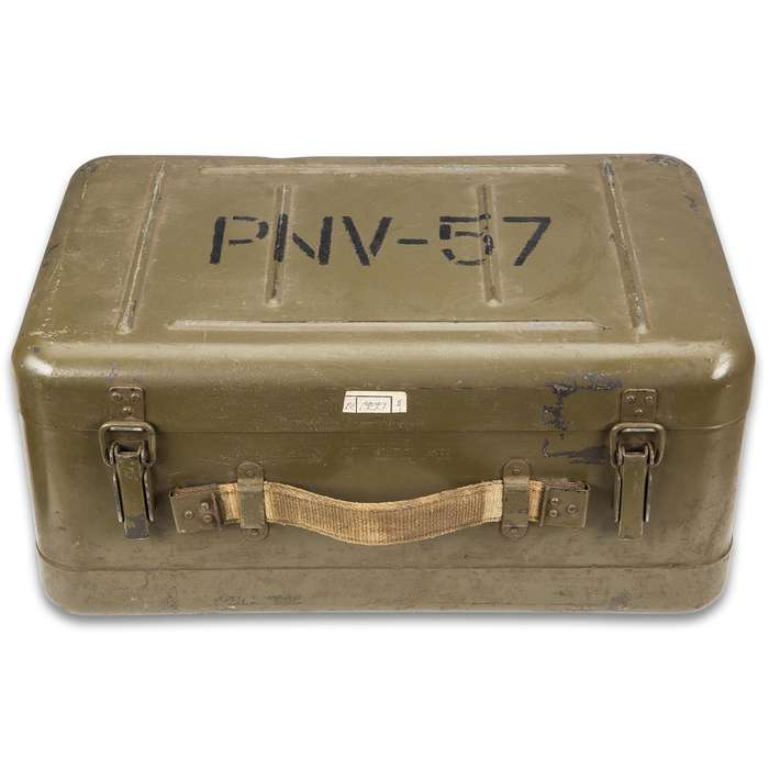 Polish Infrared Device PNW-57-A With Metal Case - Used, For Decoration Only, Authentic Cold War Collectible