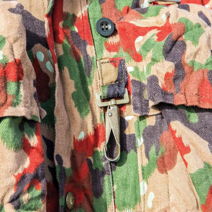 Swiss Army M70 Field Jacket / Coat with Rucksack / Backpack - Genuine Military Surplus; Used, Excellent Condition - Swiss Camo; Cotton / Polyester; Numerous Pockets - Camping Outdoors Tactical