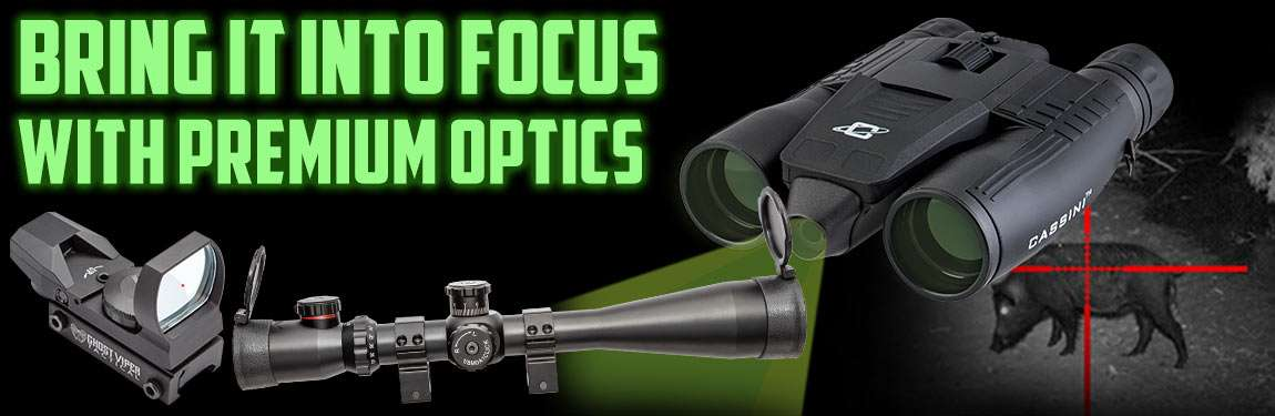 Bring It Into Focus With Premium Optics