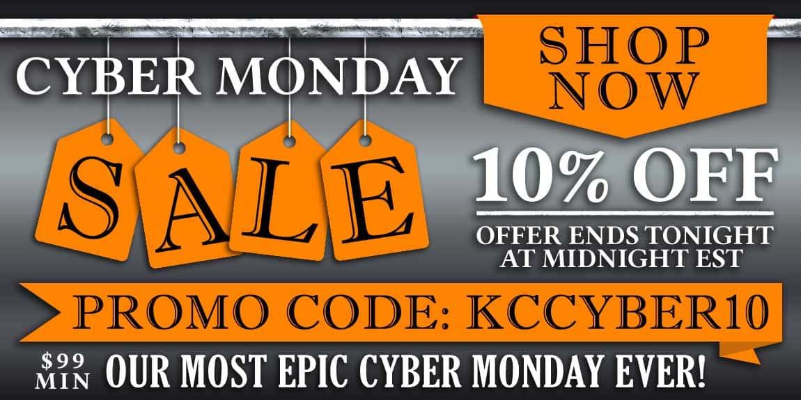 10% Off $99 Min Cyber Monday