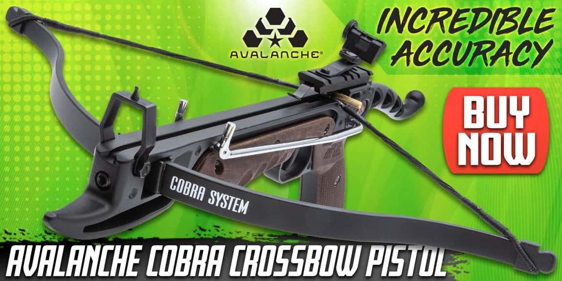 Avalanche Cobra Crossbow Pistol