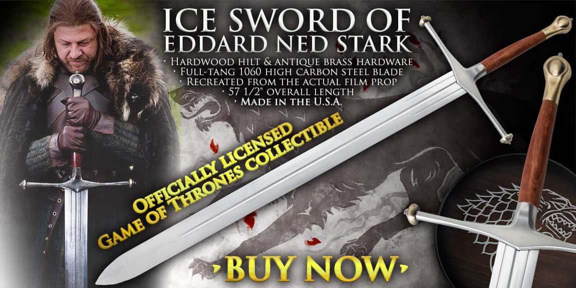 Game Of Thrones Ice Sword Of Eddard Ned Stark
