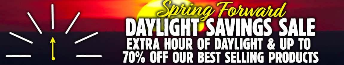 Daylight Savings Sale
