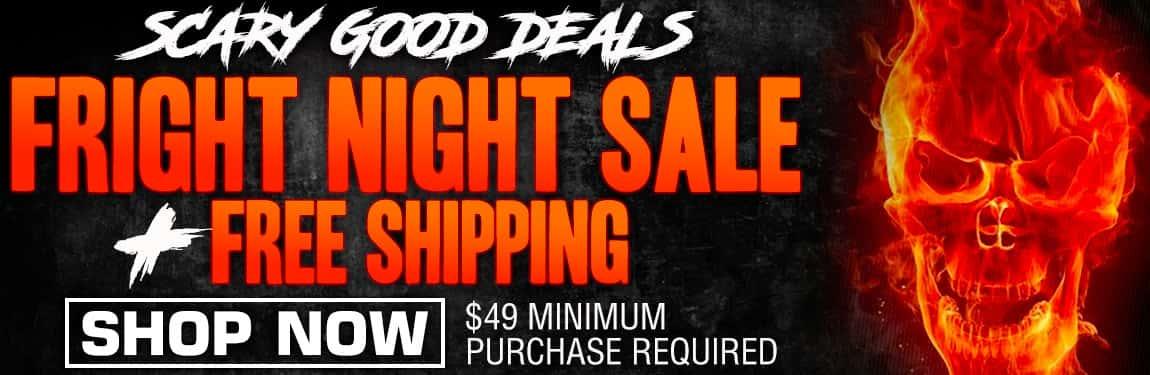 Fright Night Sale