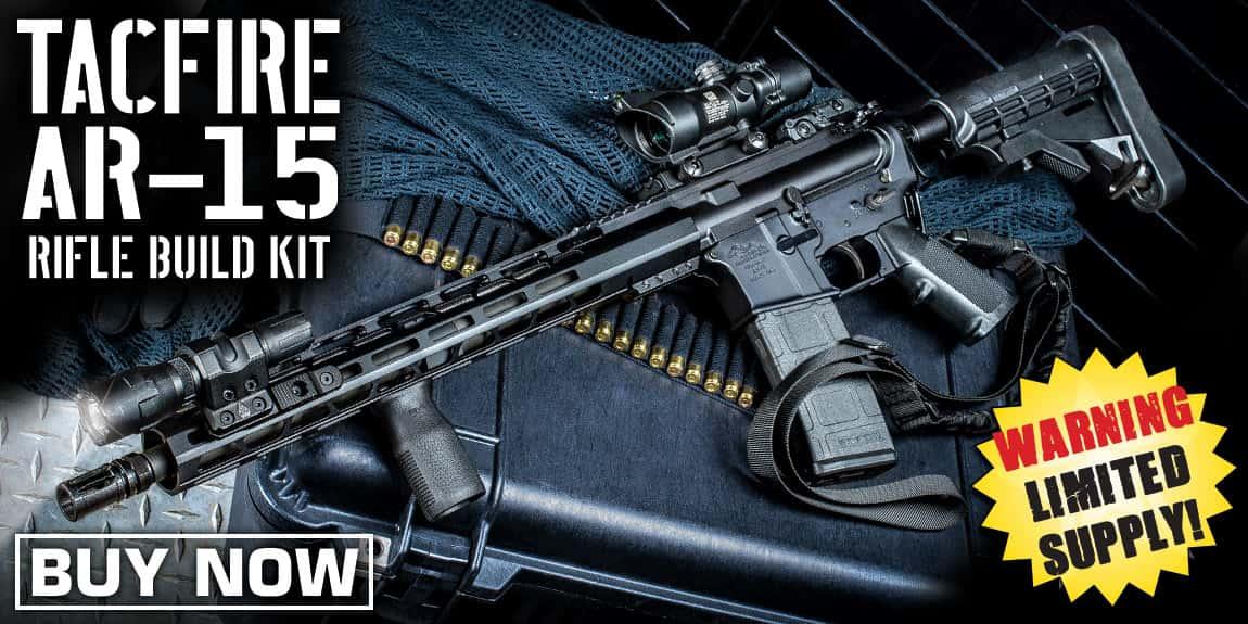 TACFIRE AR-15 RIFLE BUILD KIT