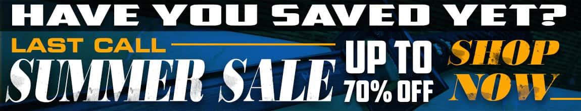 Last Call Summer Sale
