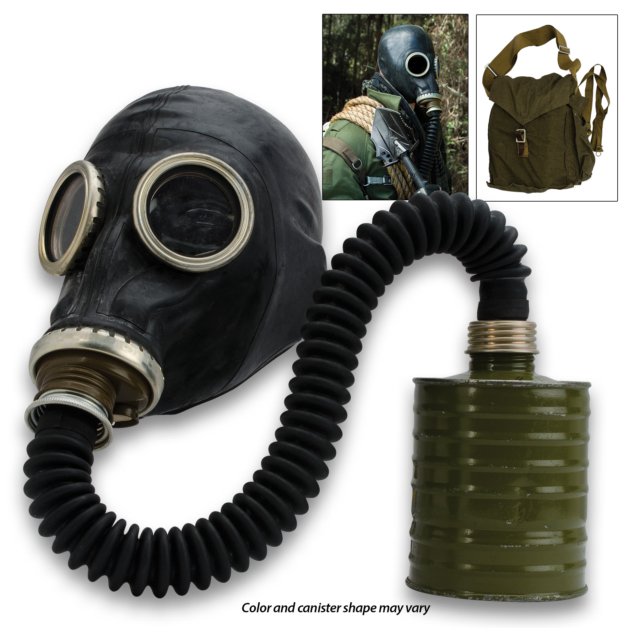 Russian Military Surplus Gas Mask SCHM-41M With Hose | BUDK com