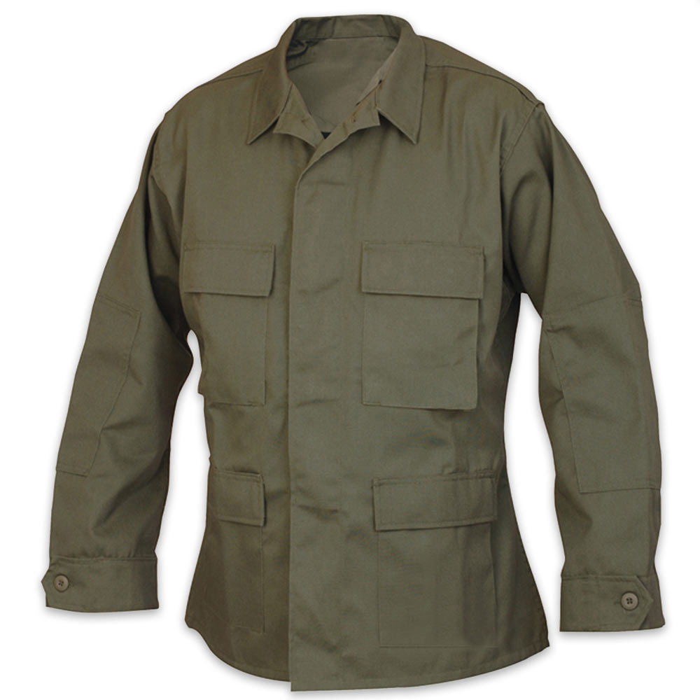 Tru spec basic bdu uniform coat od kennesaw cutlery for Does olive garden give military discount