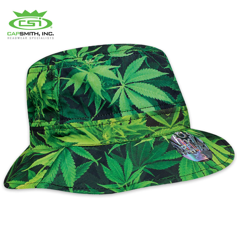 5301a07d8df Green Mary Jane Bucket Hat