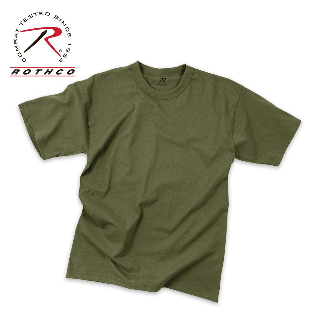 Olive Drab Moisture Wicking T Shirt Kennesaw Cutlery