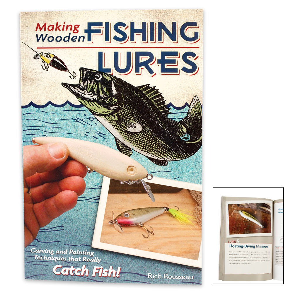 Making Wooden Fishing Lures Book Budkcom Knives Swords At The