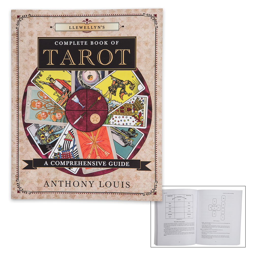 Llewellyn's Complete Book of Tarot: A Comprehensive Guide by Anthony