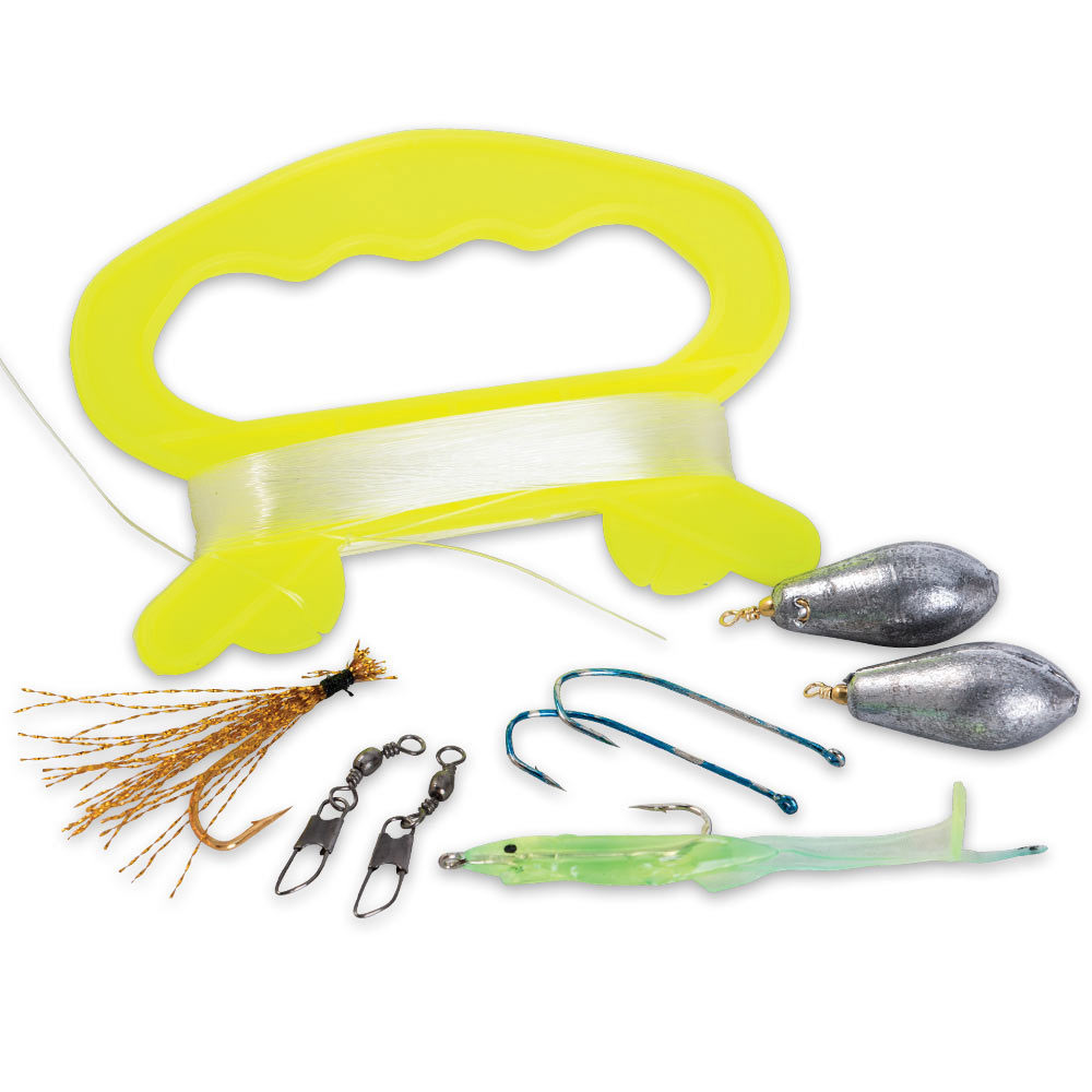 Emergency fishing kit for life raft kennesaw cutlery for Survival fishing kit