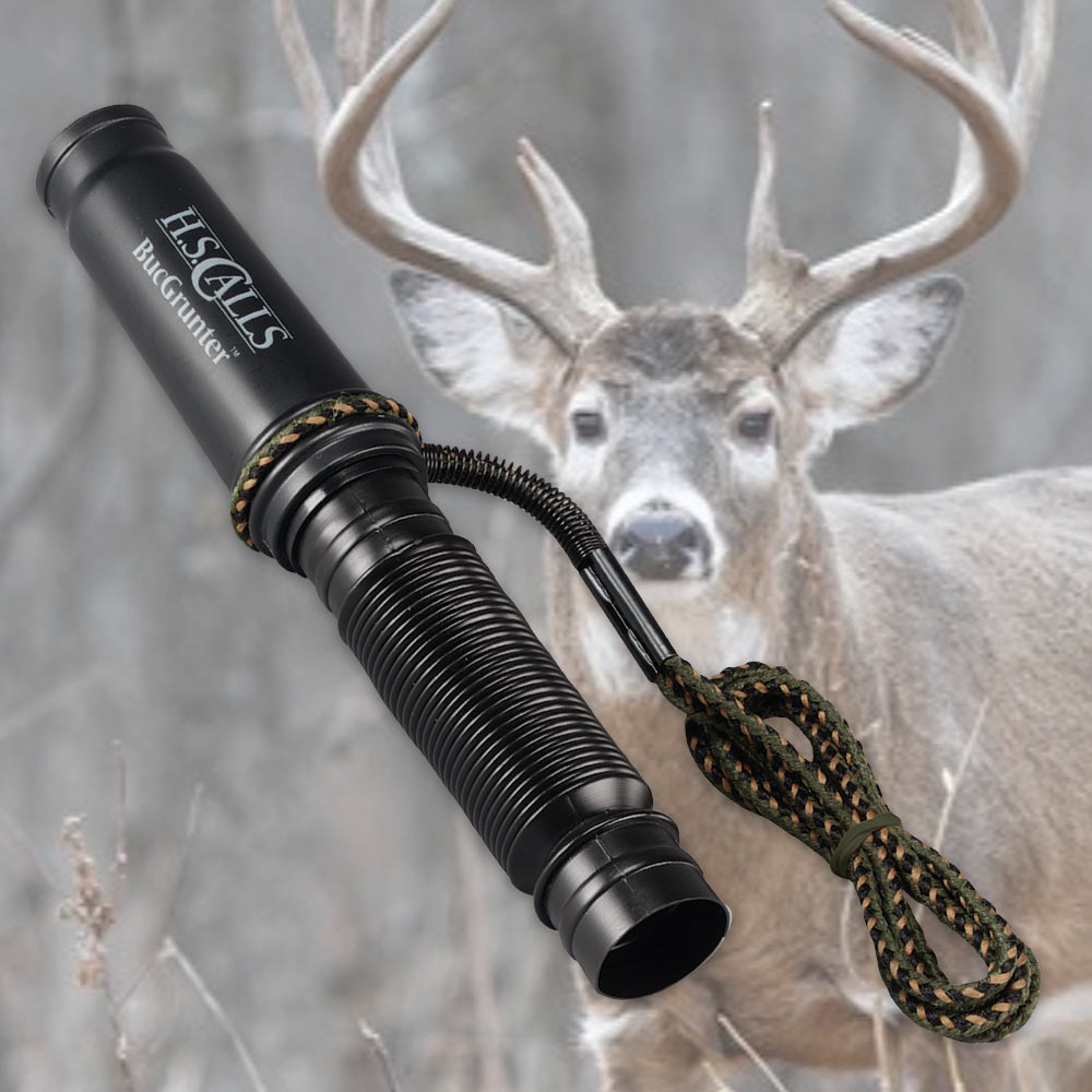 how to use a deer grunt call
