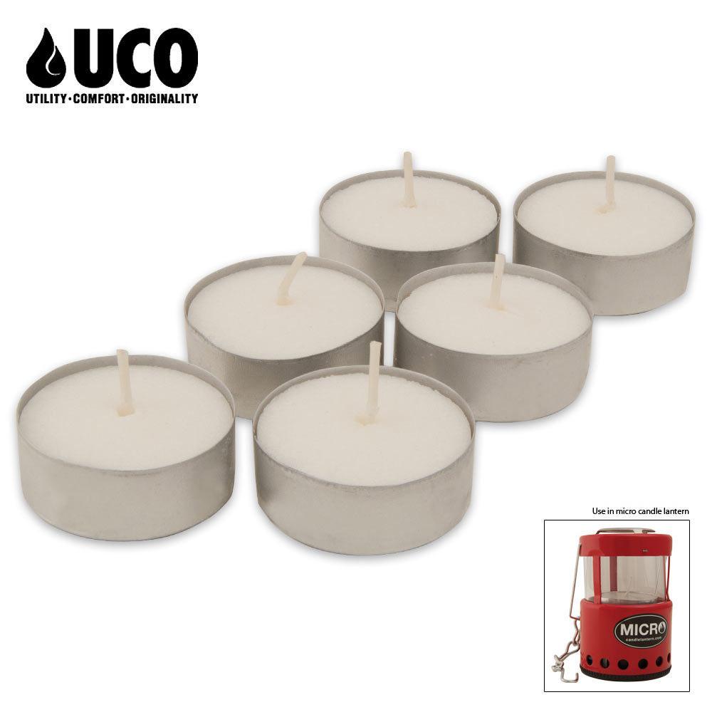 UCO Tealight Candles 6 Pack | CHKadels com | Survival