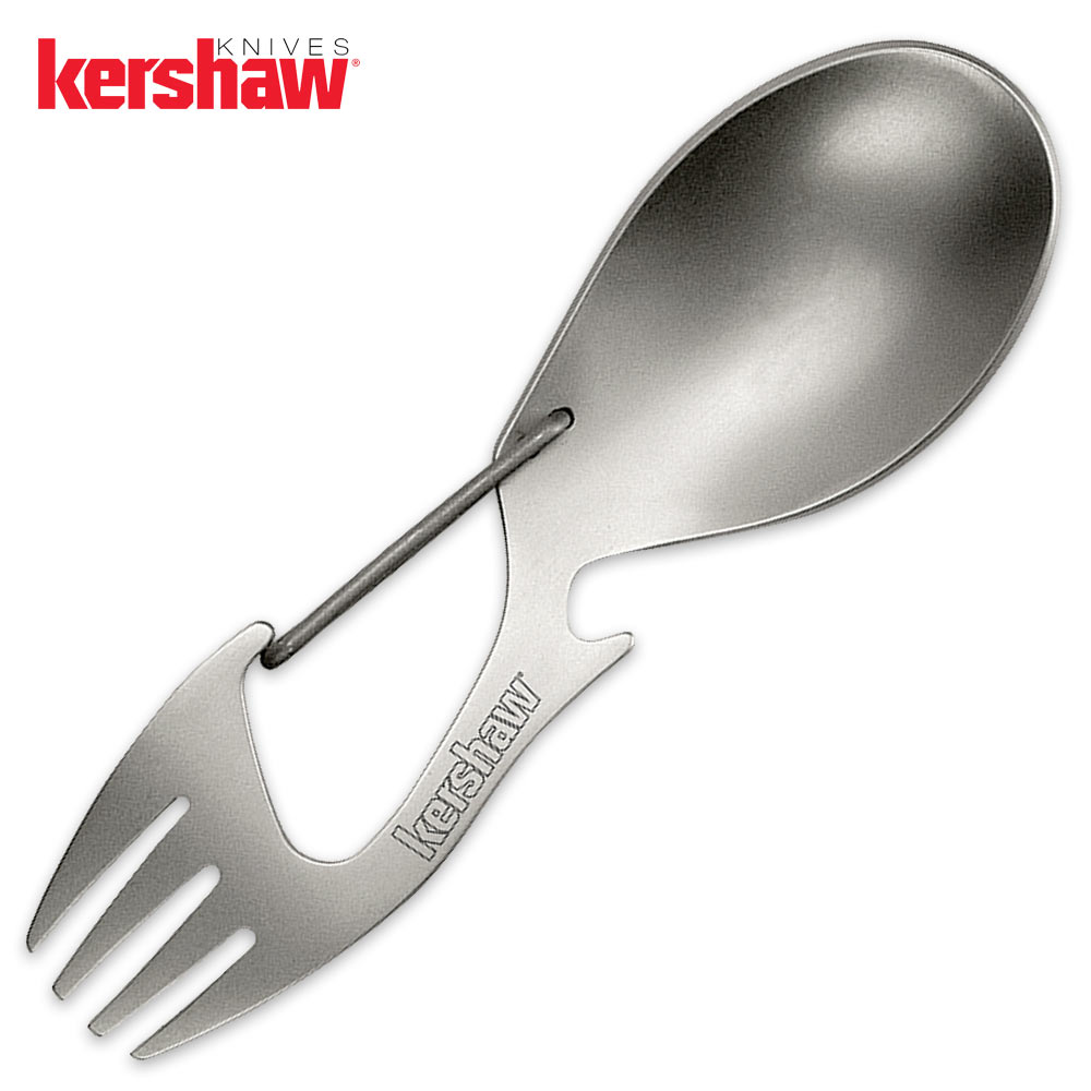 kershaw ration spoon and fork tool budk com knives u0026 swords at