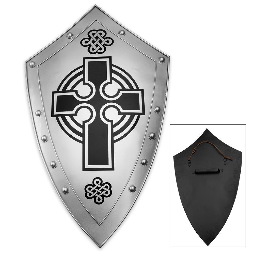 Crusaders Cross Iron Faith Shield | CHKadels com | Survival