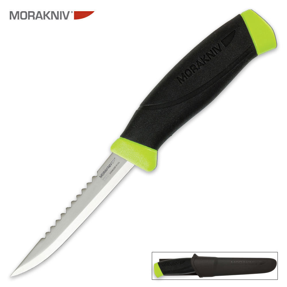 Mora fishing comfort scaler 098 knife kennesaw cutlery for Fish scaling knife