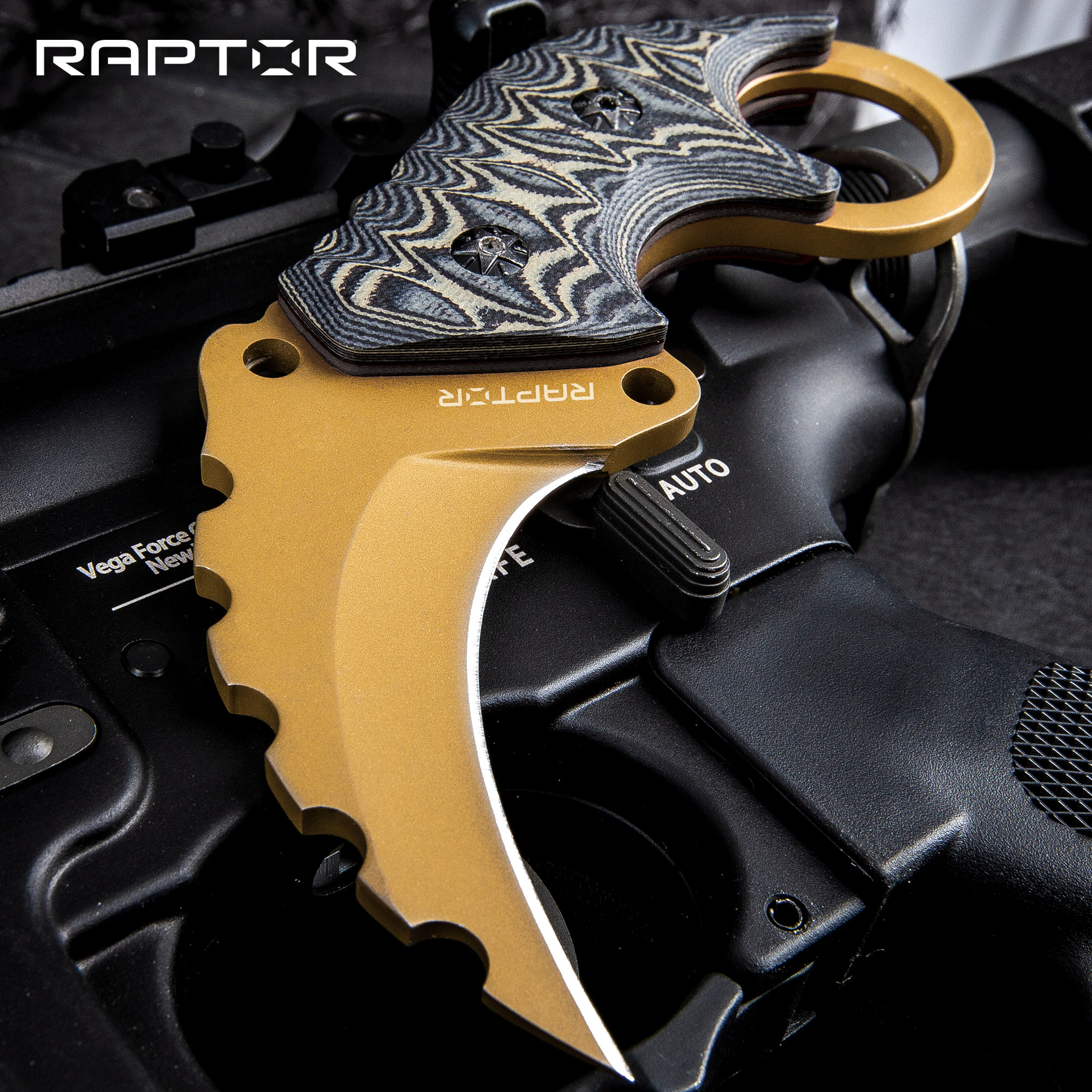 Raptor Junior Arid Earth Karambit