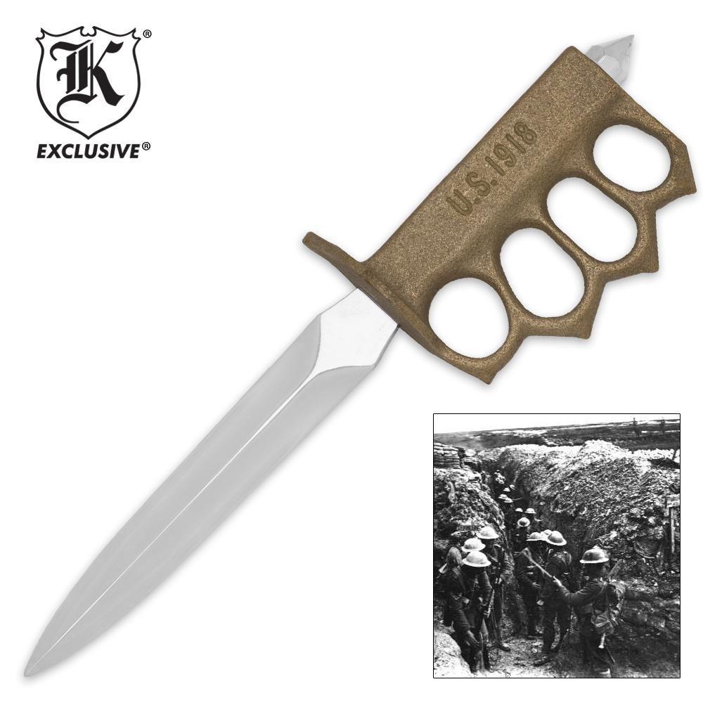 1918 WWI Trench Knife Replica