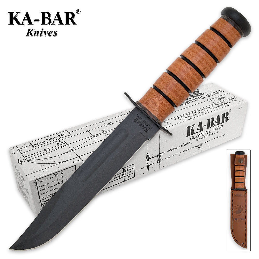 Ka Bar Usmc Tactical Bowie Knife Prev Next Hover To Zoom