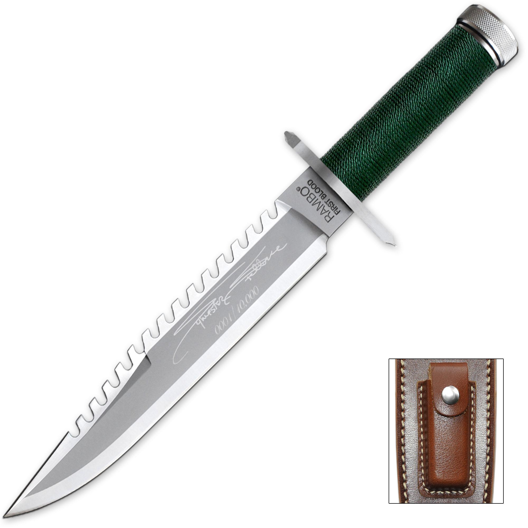 Rambo Knife Survival Kit Rambo I Stallone Signa...