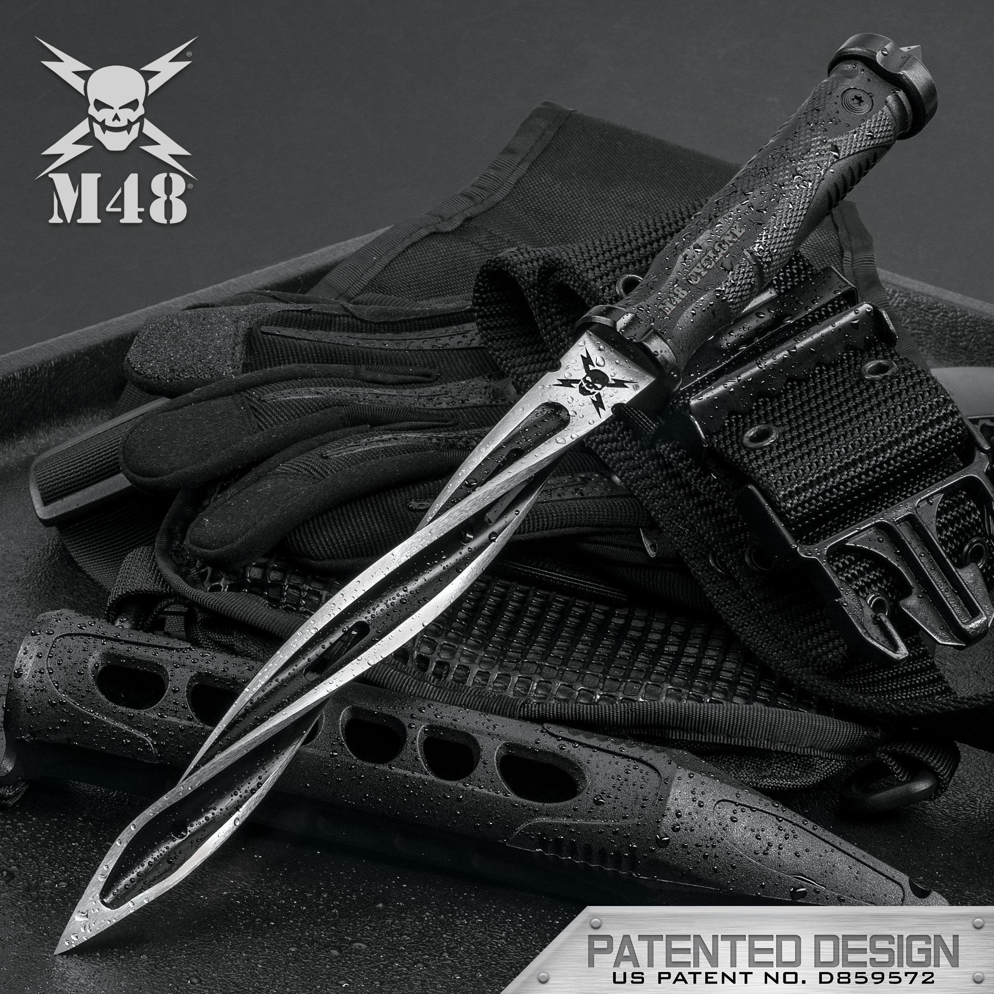 Intimidating looking knives