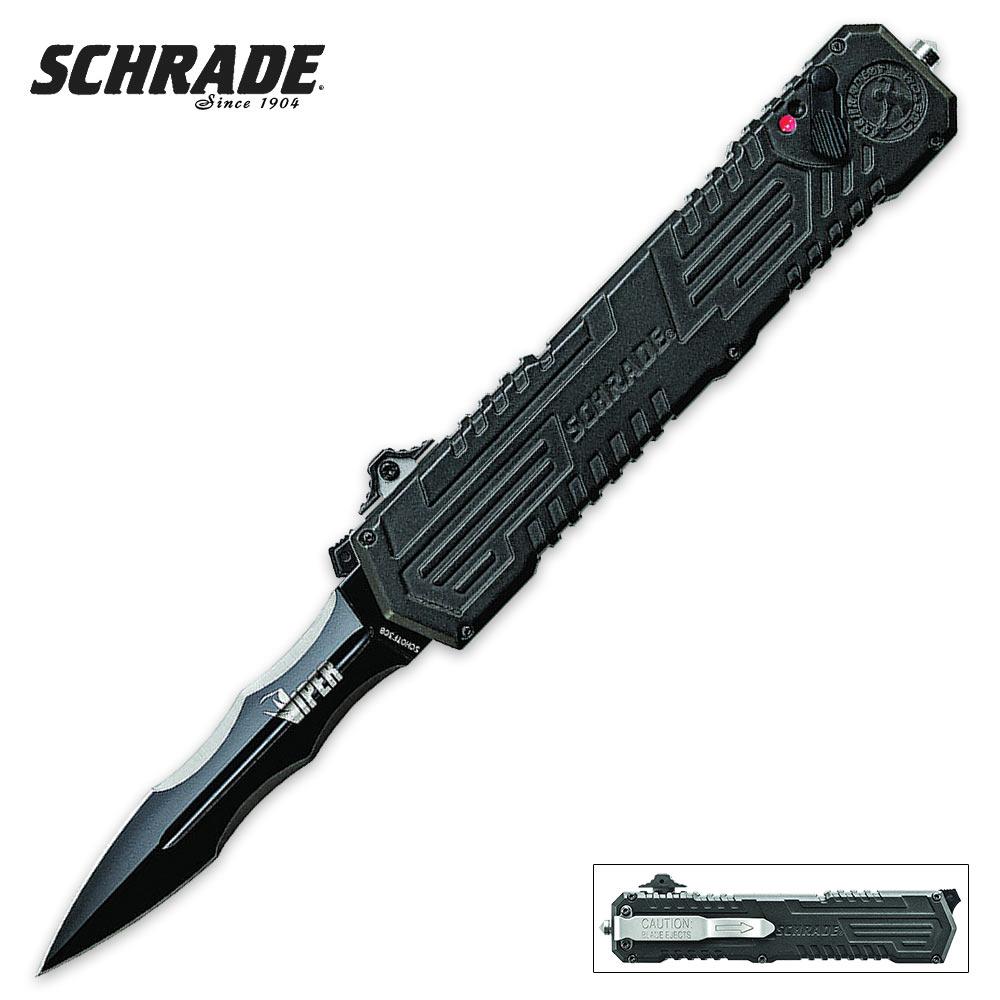 Schrade Otf Viper Spear Point Pocket Knife Kennesaw Cutlery