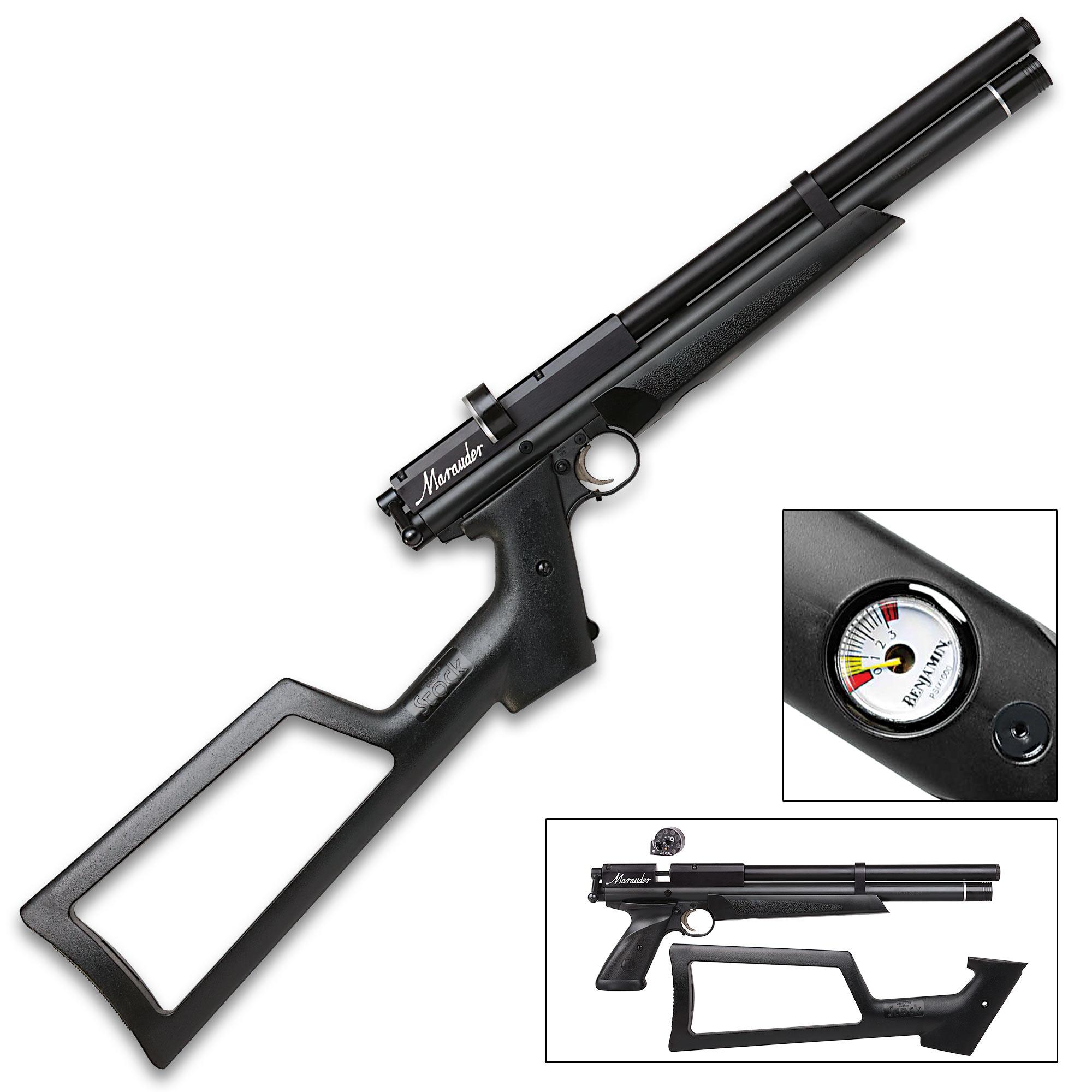 Benjamin  22 Marauder PCP Air Pistol - Rifled Steel Barrel