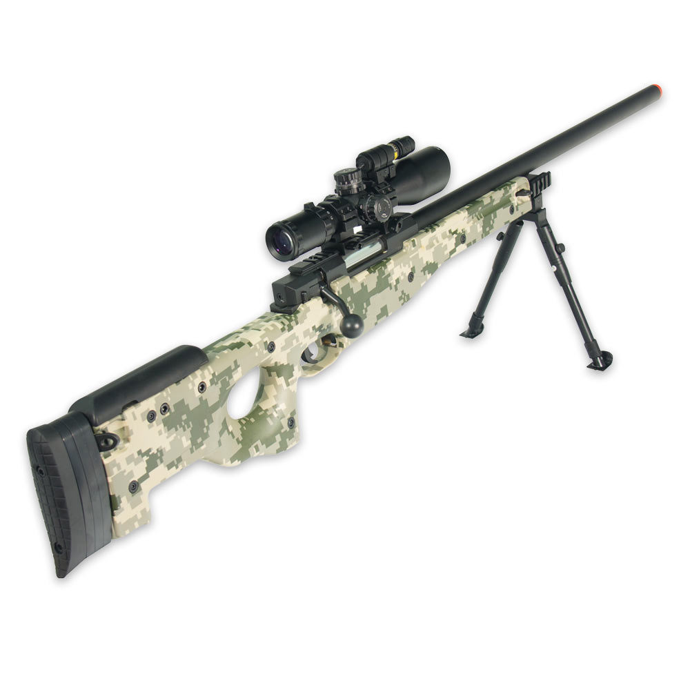 UTG Shadow OPS Sniper Airsoft Rifle | BUDK com - Knives & Swords At