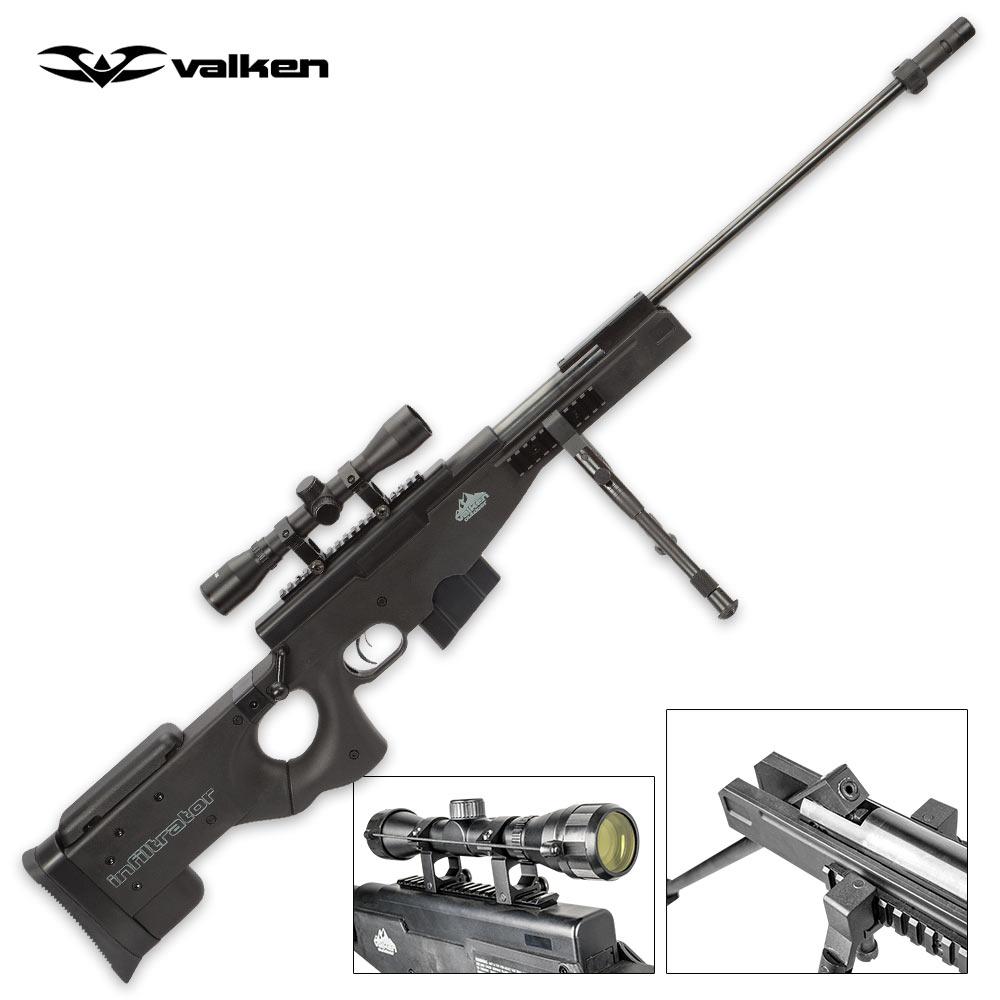 Valken Infiltrator  177 Caliber Tactical Pellet / Air Rifle