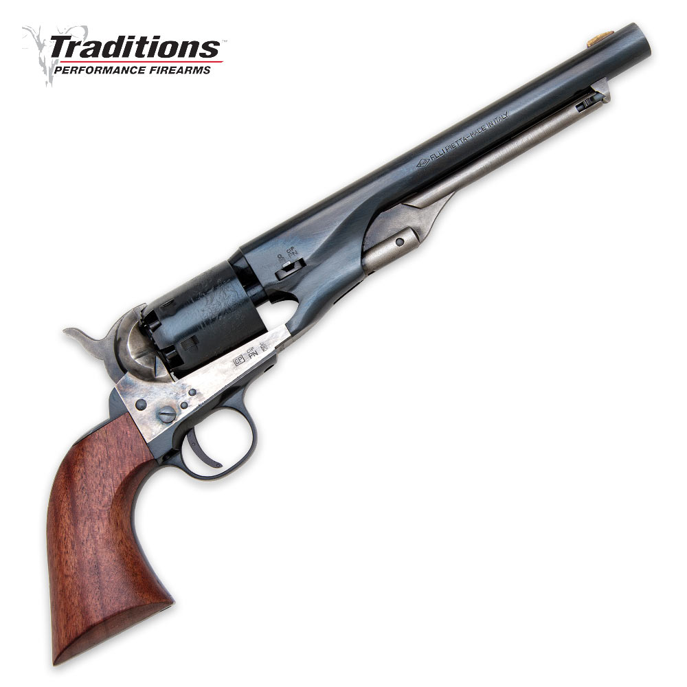 Traditions Firearms  36 Caliber Josey Wales Navy Black