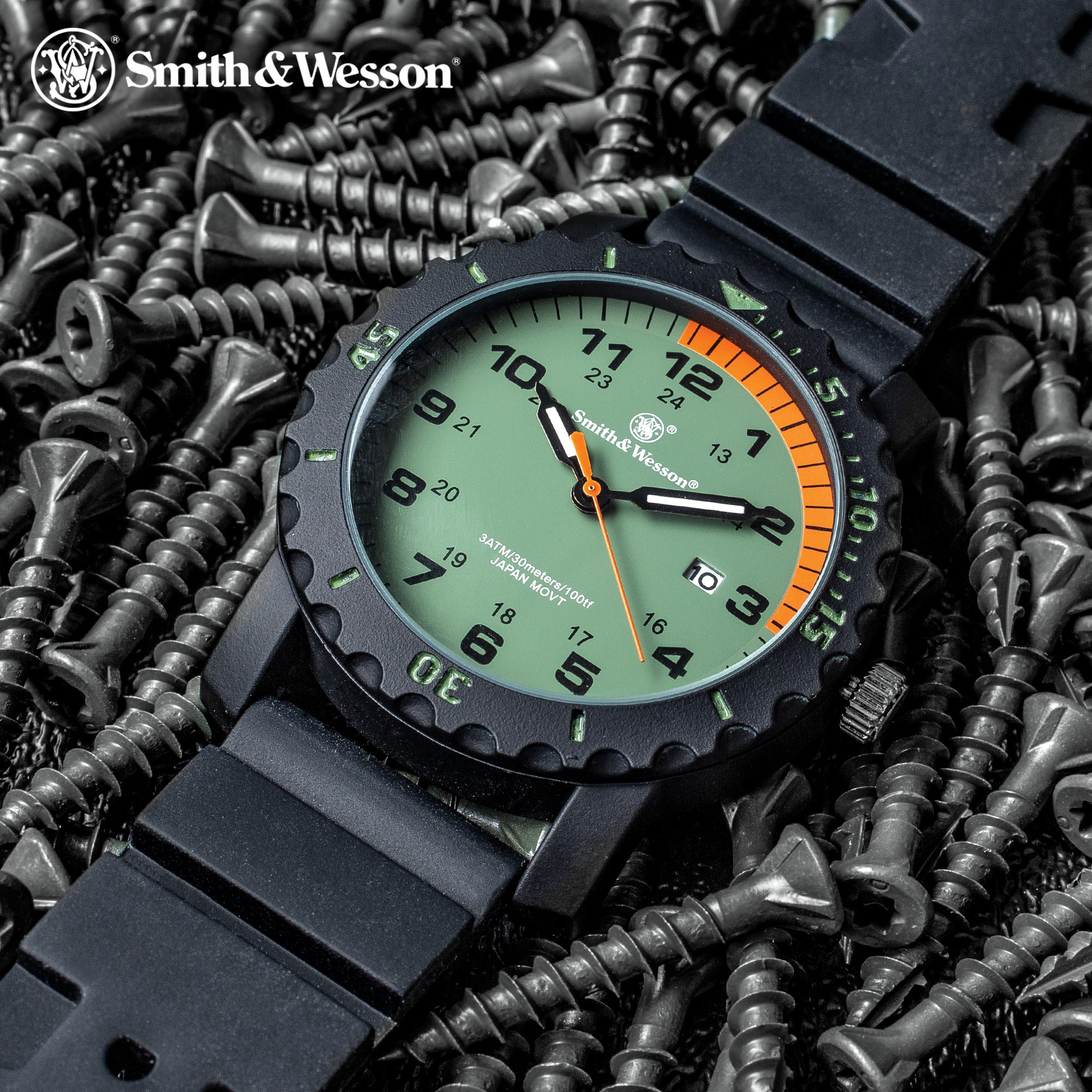 Smith & Wesson Grenadier Land And Sea Rescue Watch