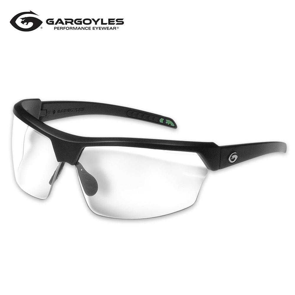 892d6af5986 Gargoyles Cardinal PR Black Sunglasses - Clear Lens